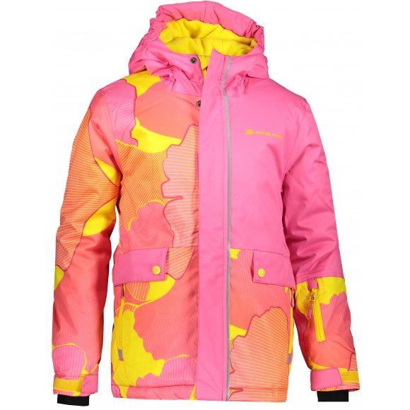Dětská lyžařská bunda ALPINE PRO INTKO KJCP157 RŮŽOVÁ