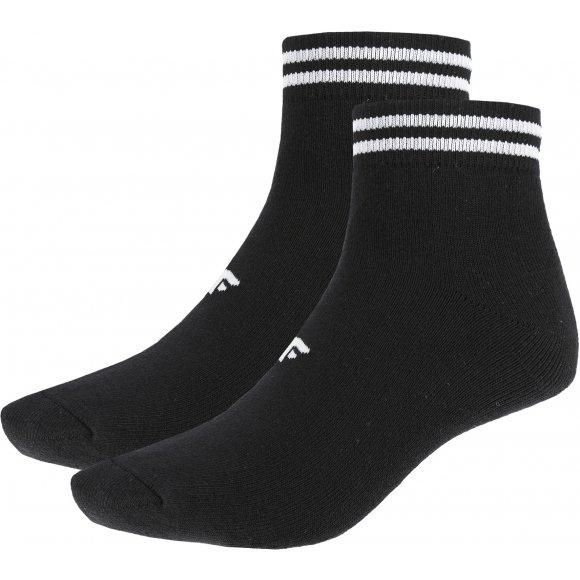 Ponožky 4F Z19-SOD208 DEEP BLACK/DEEP BLACK
