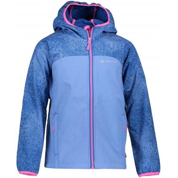 Dívčí softshellová bunda ALPINE PRO NOOTKO 8 KJCP145 MODRÁ