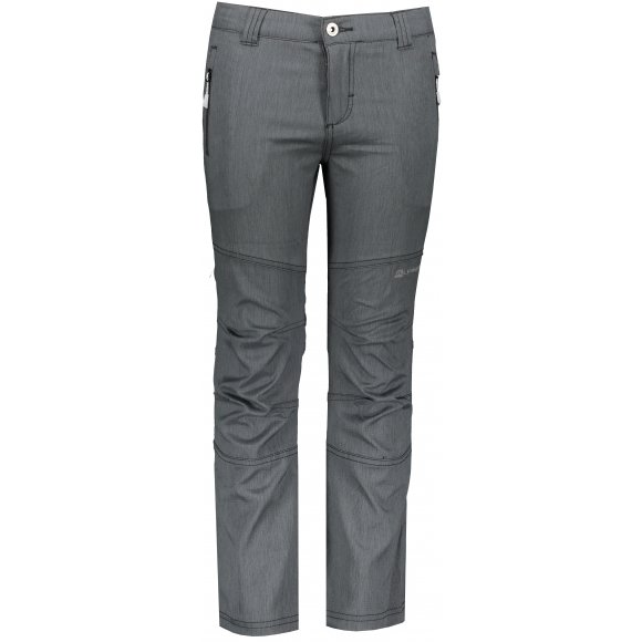 Dětské softshellové kalhoty ALPINE PRO PLATAN 4 KPAP158 ČERNÁ