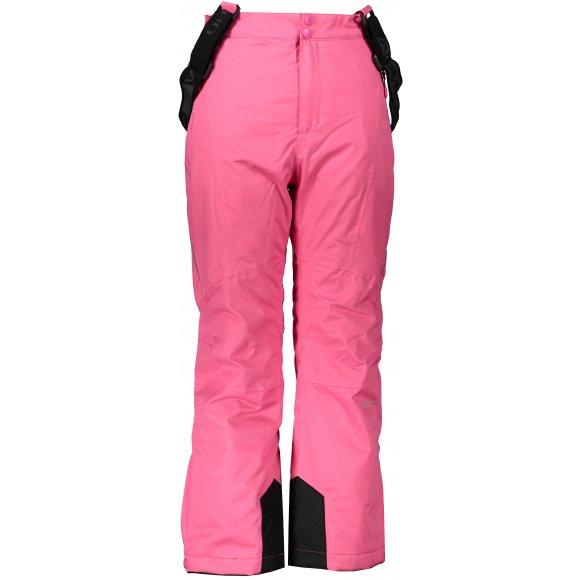 Dětské lyžařské kalhoty ALPINE PRO ANIKO 3 KPAP168 RŮŽOVÁ