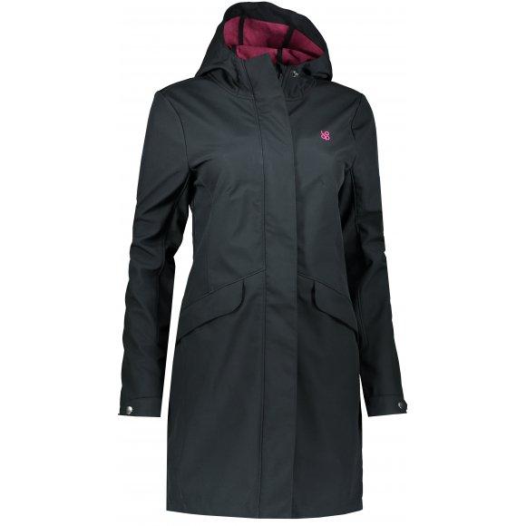 Dámský softshellový kabát LOAP LYENA SFW1918 ČERNÁ