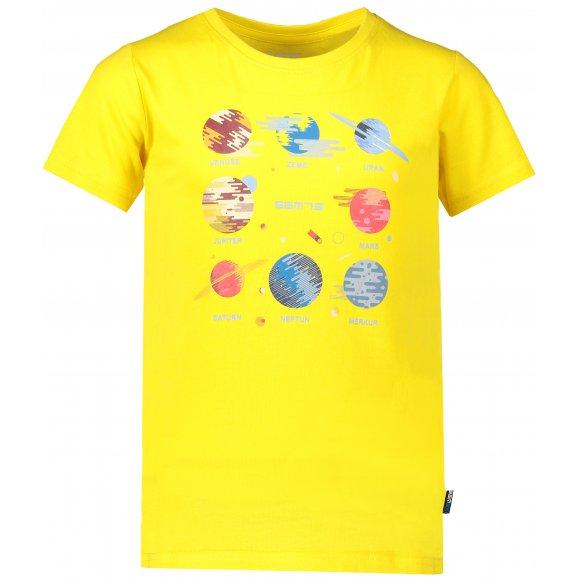 Chlapecké triko s krátkým rukávem SAM 73 KTSP219 ŽLUTÁ