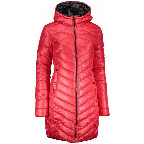 Dámský zimní kabát SAM 73 WB 777 ČERVENÁ
