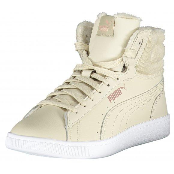 Dámské zateplené boty PUMA VIKKY V2 MID WTR 37027902 OVERCAST/ROSE GOLD