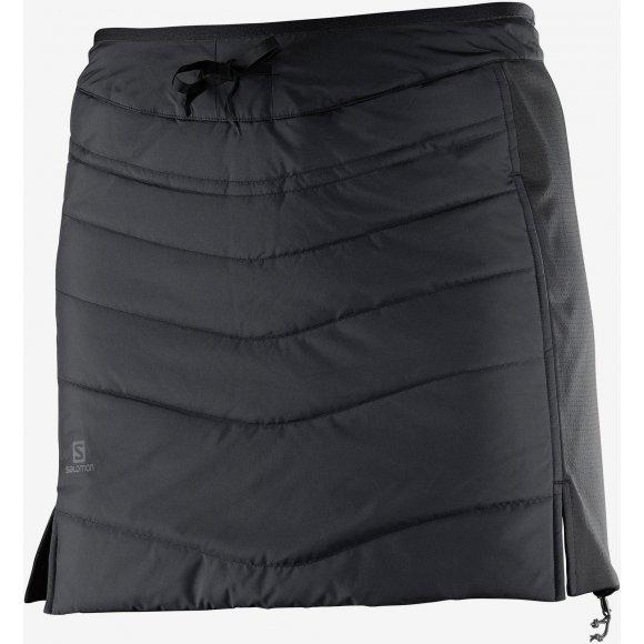 Dámská oboustranná sukně SALOMON DRIFTER MID SKIRT W L39745700 BLACK