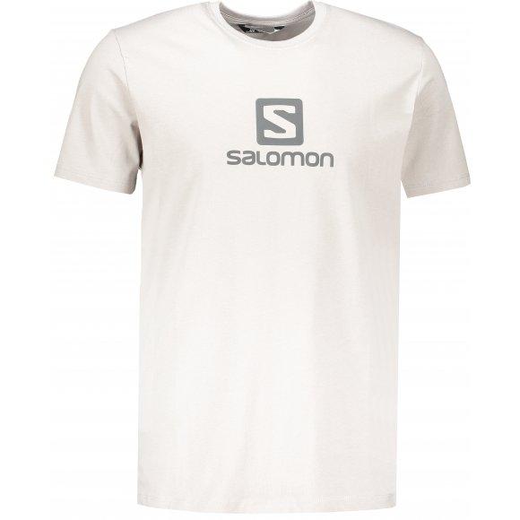 Pánské triko SALOMON COTON LOGO SS TEE M LC1152300 ALLOY