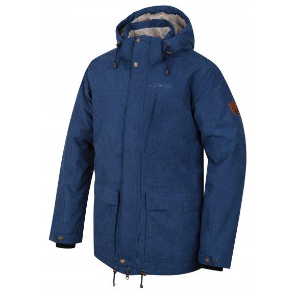 Pánská zimní bunda HANNAH LEEDS DARK DENIM
