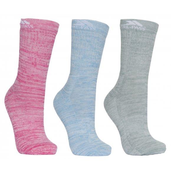 Dámské ponožky TRESPASS HELVELLYN FASOWAO30001 ROSE/BLUE/SAGE