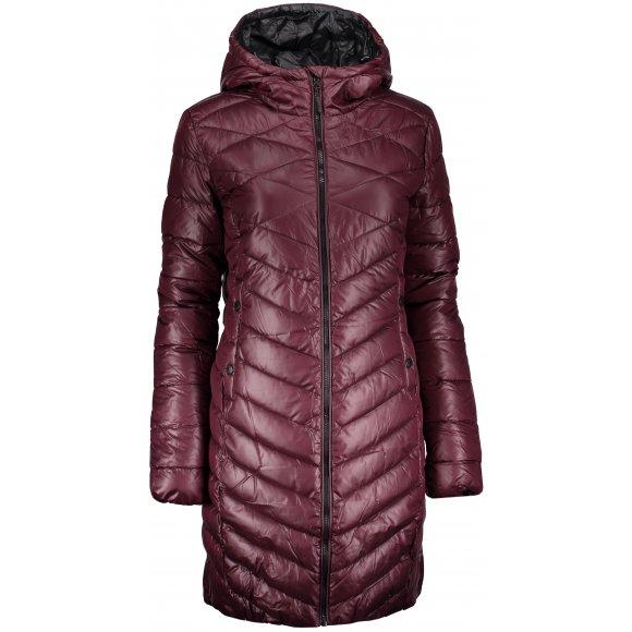 Dámský zimní kabát SAM 73 WB 777 VÍNOVÁ