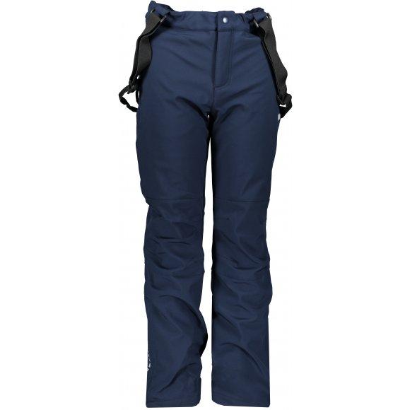 Dětské softshellové kalhoty LOAP LONNY SFK1911 TMAVĚ MODRÁ