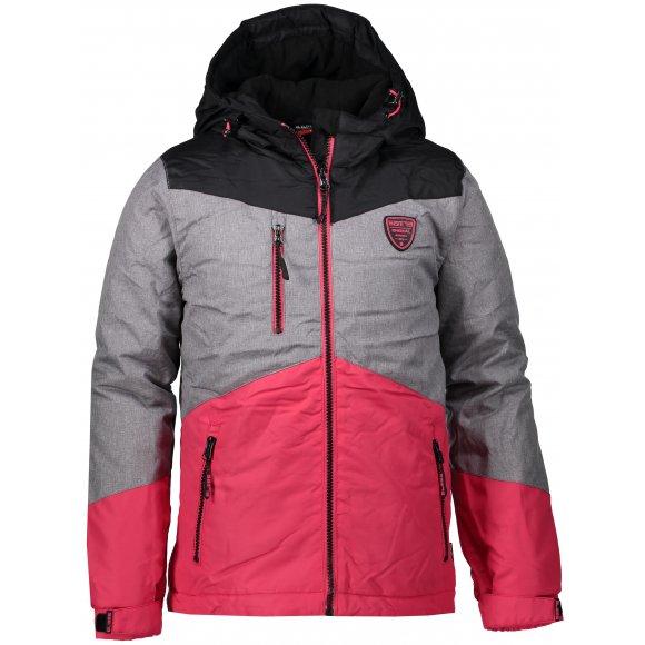 Dívčí zimní bunda SAM 73 GB 523 TMAVĚ RŮŽOVÁ