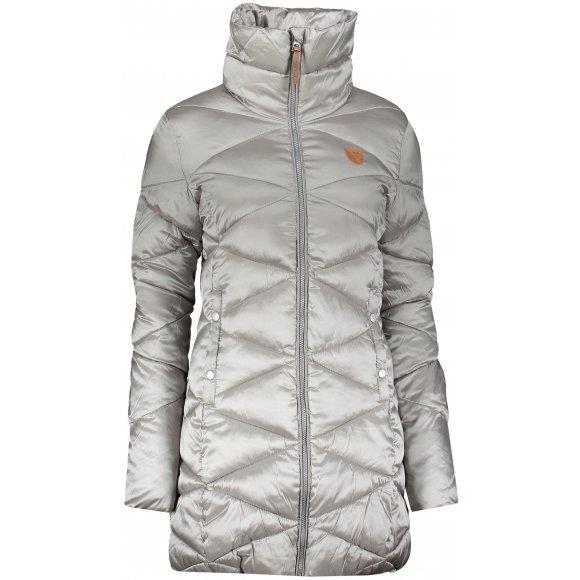 Dámský zimní kabát SAM 73 WB 781 STŘÍBRNÁ/ŠEDÁ