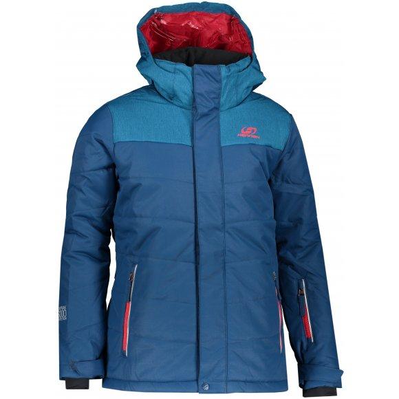 Dětská lyžařská bunda HANNAH KINAM JR POSEIDON/MYKONOS MEL