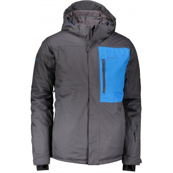 Pánská lyžařská bunda LOAP FOSLEY OLM1914 ŠEDÁ