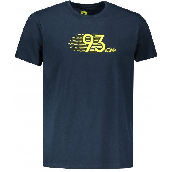 Pánské triko LOAP ALKOR CLM1973 TMAVĚ MODRÁ