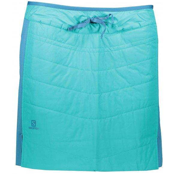 Dámská oboustranná sukně SALOMON DRIFTER MID SKIRT W LC1146700 TILE BLUE