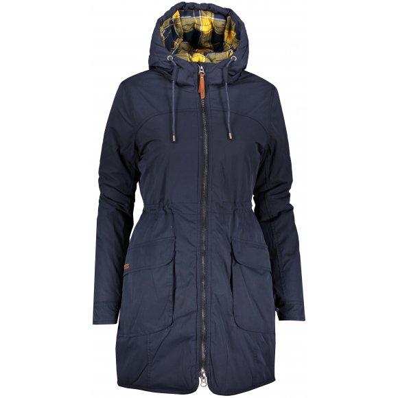 Dámský zimní kabát LOAP NAKIA CLW1999 MODRÁ