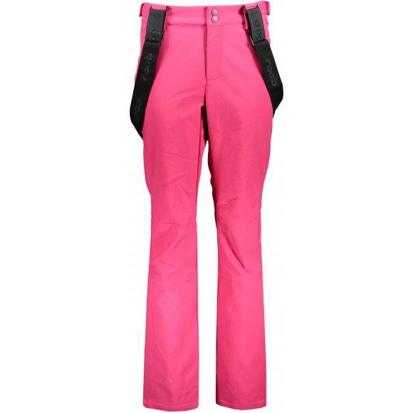 Dámské lyžařské softshellové kalhoty LOAP LYDENA SFW1922 RŮŽOVÁ