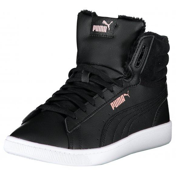 Dámské zateplené boty PUMA VIKKY V2 MID WTR 37027901 PUMA BLACK/BRIDAL ROSE