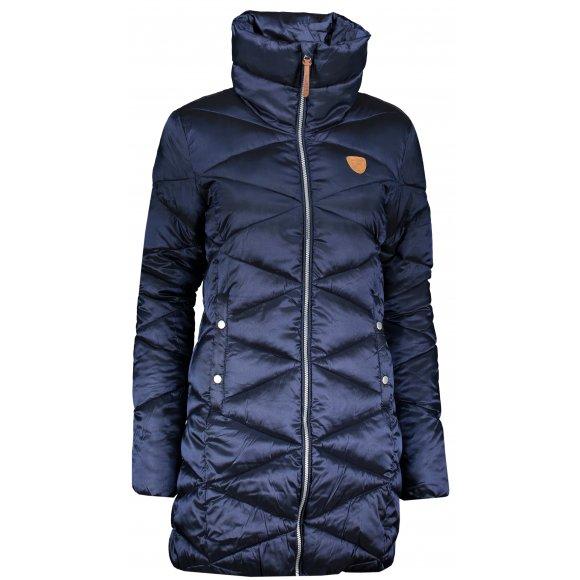 Dámský zimní kabát SAM 73 WB 781 TMAVĚ MODRÁ