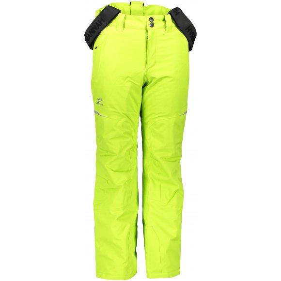Dětské zimní kalhoty HANNAH KAROK JR LIME GREEN