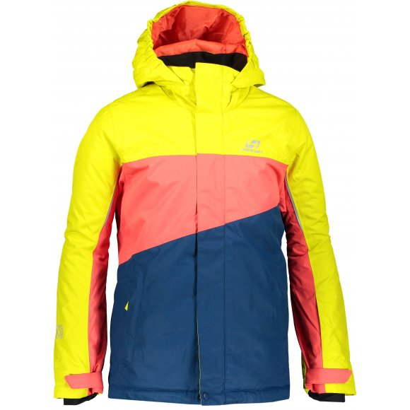 Dětská lyžařská bunda HANNAH MAJLO JR SULPHUR SPRING/HOT CORAL