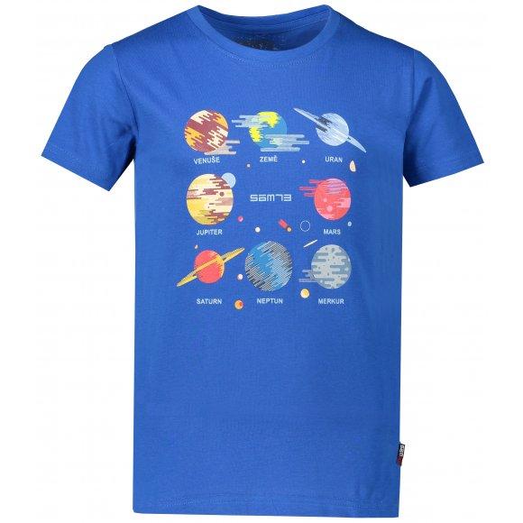 Chlapecké triko s krátkým rukávem SAM 73 KTSP219 MODRÁ