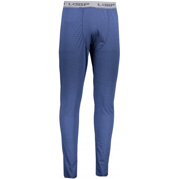 Pánské termo kalhoty LOAP PETTE TLM1914 MODRÁ