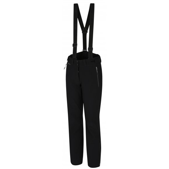 Dámské zimní softshellové kalhoty HANNAH MARCHESA ANTHRACITE