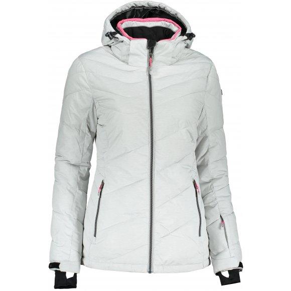 Dámská lyžařská bunda KILLTEC OCISA 33931 SVĚTLE ŠEDÁ