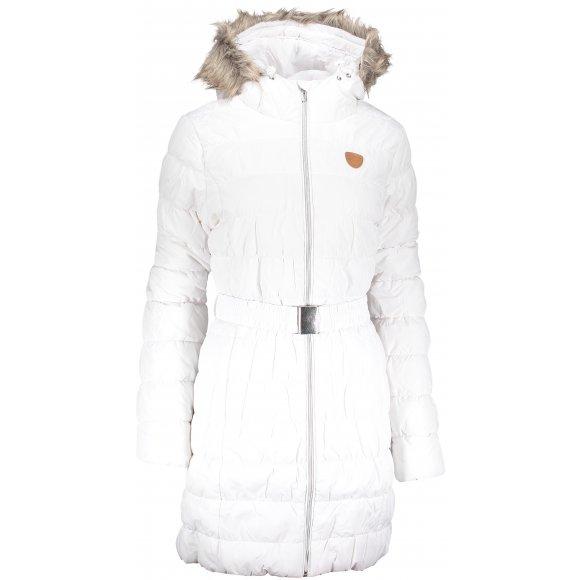 Dámský zimní kabát SAM 73 WB 779 BÍLÁ