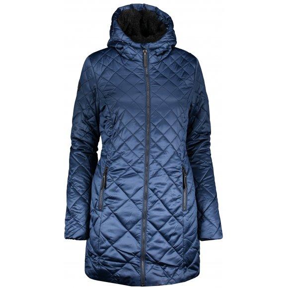 Dámský zimní kabát LOAP TENCY CLW19106 TMAVĚ MODRÁ