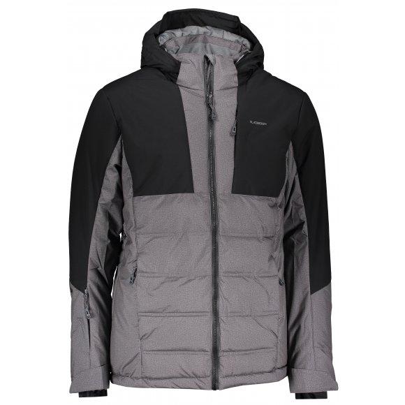 Pánská zimní bunda LOAP OTELO OLM1921 ŠEDÁ