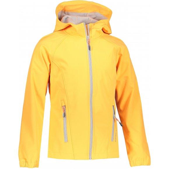 Dívčí softshellová bunda ICEPEAK KENSETT JR ABRICOT