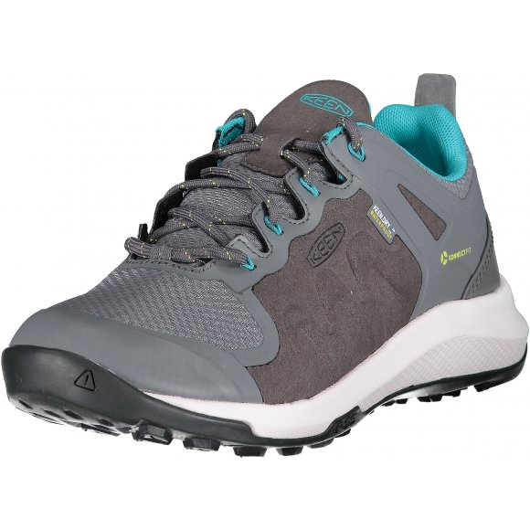 Dámské boty KEEN EXPLORE WP W STEEL GREY/BRIGHT TURQUOISE