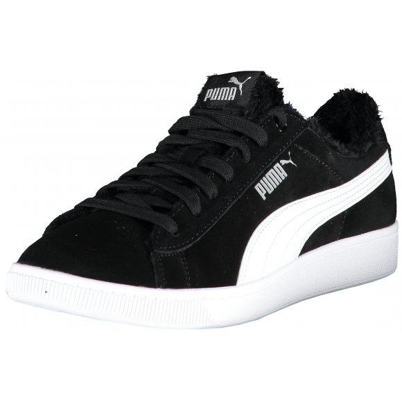 Dámské zateplené boty PUMA VIKKY V2 FUR 36998102 PUMA BLACK/PUMA WHITE