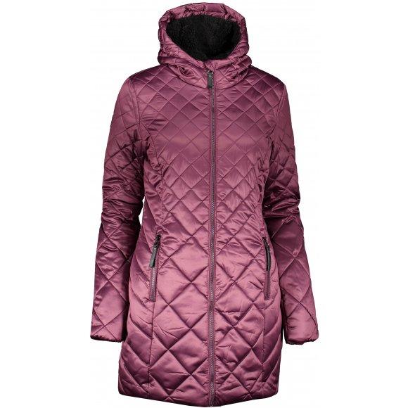 Dámský zimní kabát LOAP TENCY CLW19106 FIALOVÁ
