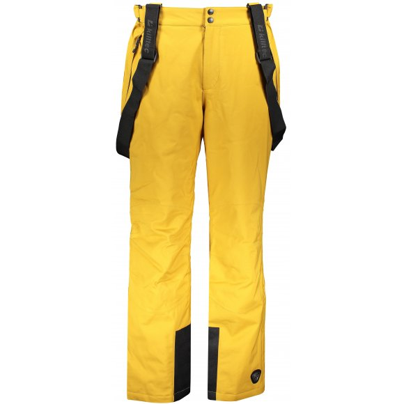 Pánské lyžařské kalhoty KILLTEC GAUROR 33298 TMAVĚ ŽLUTÁ