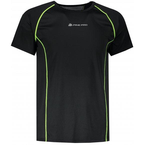 Pánské funkční triko ALPINE PRO LEON MTSR462 ČERNÁ