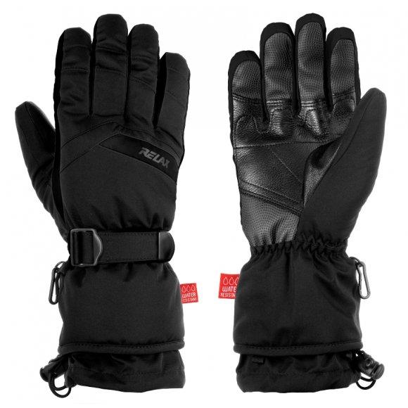 Pánské lyžařské rukavice RELAX FRONTIER RR20A ČERNÁ