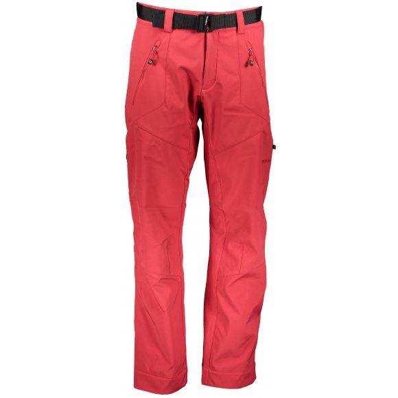 Pánské softshellové kalhoty HUSKY KRESI M ČERVENÁ