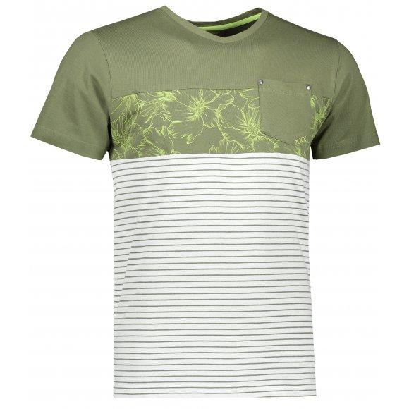 Pánské triko ALPINE PRO MINER MTSR470 ZELENÁ