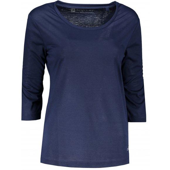 Dámské triko s 3/4 rukávem ALTISPORT MARAXA LTSR670 MODRÁ