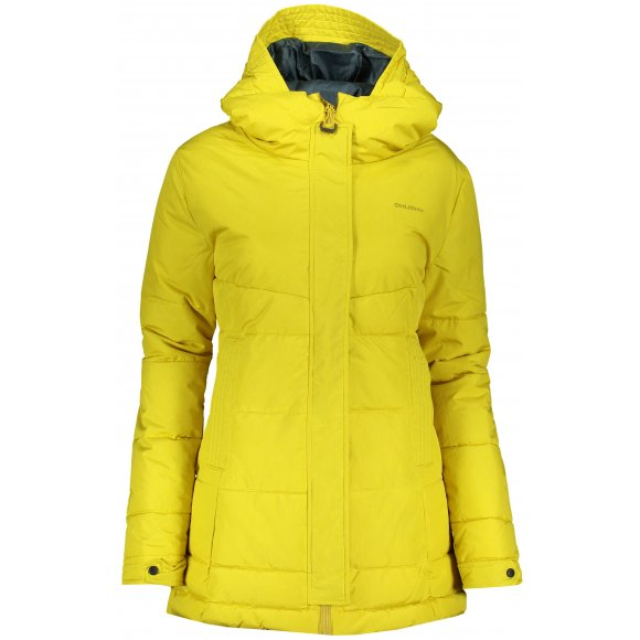 Dámský zimní kabát HUSKY NILIT L ŽLUTOZELENÁ