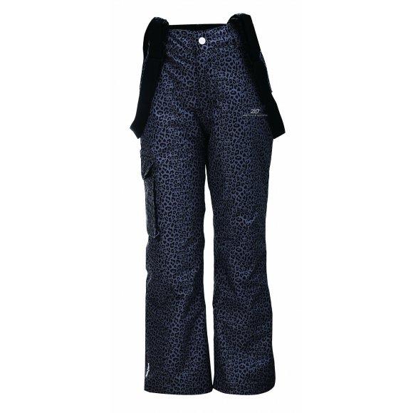 Dětské lyžařské kalhoty 2117 TALLBERG JR  7529930488 ČERNÁ