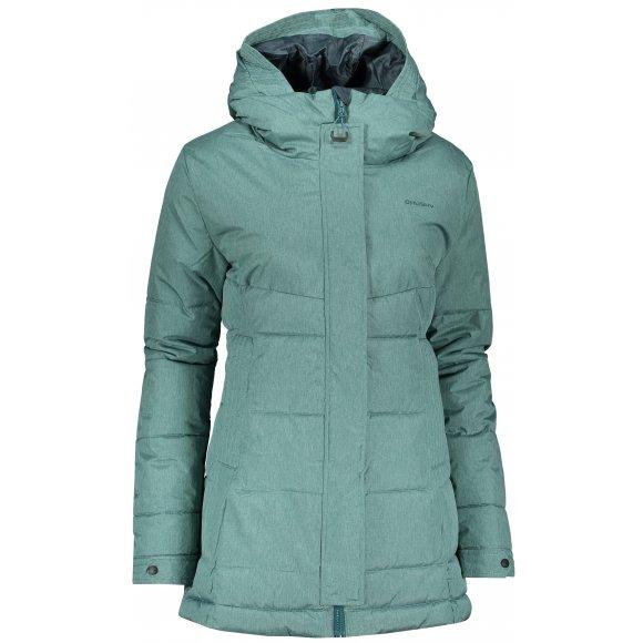 Dámský zimní kabát HUSKY NILIT L TMAVÝ MENTOL