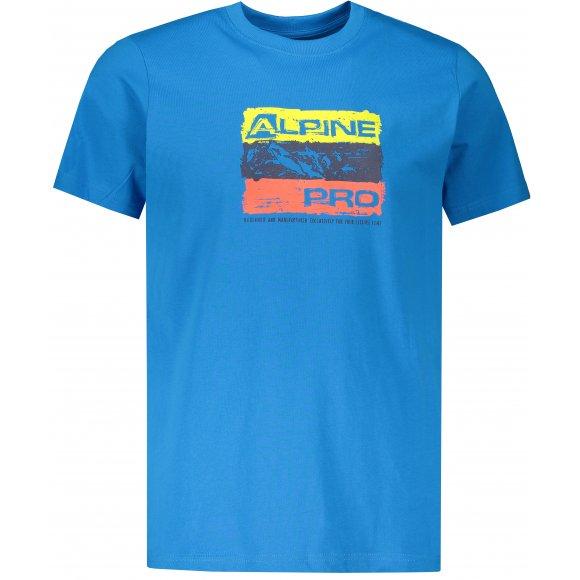 Pánské triko ALPINE PRO UNEG 8 MTSR458 SVĚTLE MODRÁ