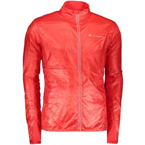 Pánská sportovní bunda ALPINE PRO BERYL 4 MJCR392 ČERVENÁ