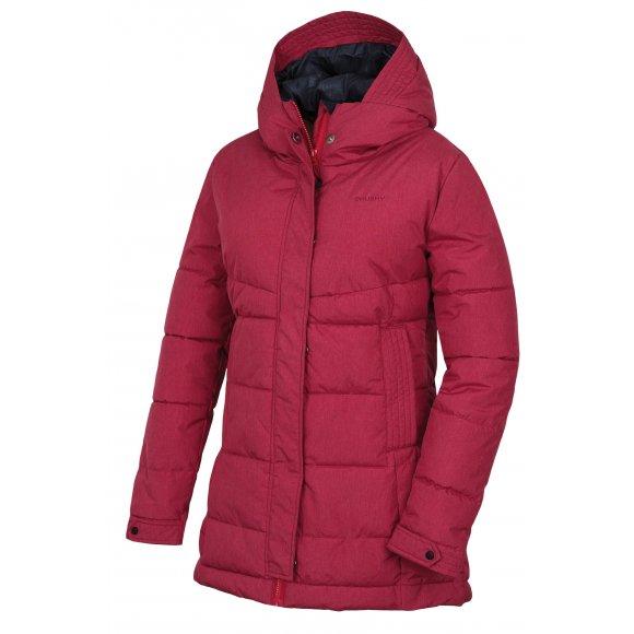 Dámský zimní kabát HUSKY NILIT L PURPUROVÁ